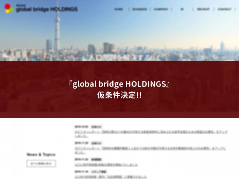 global bridge HOLDINGS
